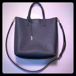 YSL Saint Laurent Bold Shopping Bag Soft Leather